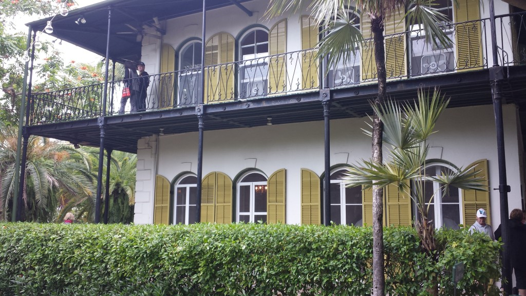Exterior of Hemingway House