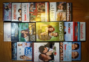 Romantic Comedies DVDs